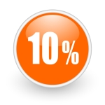 10% icon